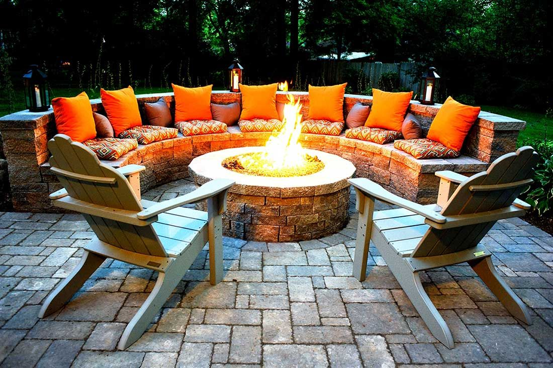Outdoor Fire Pits-Garland TX Professional Landscapers & Outdoor Living Designs-We offer Landscape Design, Outdoor Patios & Pergolas, Outdoor Living Spaces, Stonescapes, Residential & Commercial Landscaping, Irrigation Installation & Repairs, Drainage Systems, Landscape Lighting, Outdoor Living Spaces, Tree Service, Lawn Service, and more.